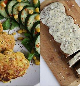 auGalingas pirmadienis: blyneliai su tofu ir citrusinis pyragas su aguonomis