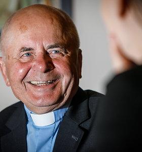 Popiežius Sigitą Tamkevičių paskyrė kardinolu