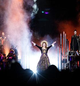 Vienos populiariausių pasaulyje dainininkių Sarah Brightman koncertas Kaune