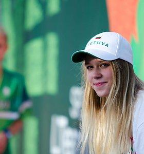 Kaune pasveikinti iš Brazilijos grįžę olimpiečiai