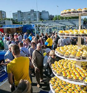 """Trečiąjį gimtadienį švenčiantis prekybos tinklas """"Lidl"""" Vilniuje atidarė naują parduotuvę: pramogos laukia visą dieną"""
