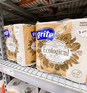 """Aplinkos apsaugos agentūra prašo """"Grigeo"""" laikinai nebeženklinti produktų ekologiniu ženklu"""