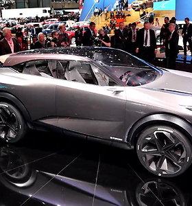 """Koncepcinis """"Nissan"""" IMq: ar taip atrodys trečios kartos """"Qashqai""""?"""