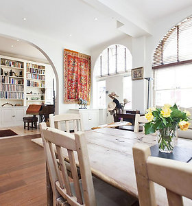 Viešėdami Londone galite išsinuomoti buvusius Madonnos ir Guy Ritchie namus