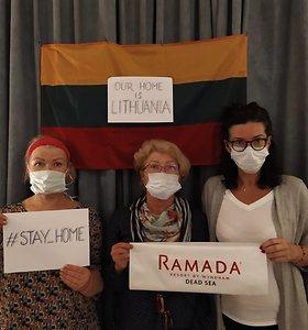 """Keturios iš 1020, arba Pagalbos šauksmas iš Jordanijos: """"Norime saugiai grįžti į Lietuvą"""""""