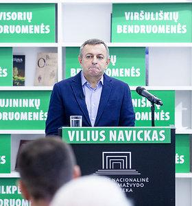 Kandidato į Vilniaus miesto mero postą Viliaus Navicko pristatymas
