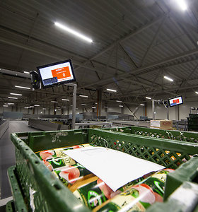 """Moderniausia Baltijos šalyse prekių rūšiavimo sistema """"Norfai"""" leidžia taupyti darbuotojų laiką"""