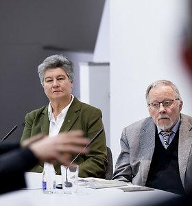 Seimo lankytojų centre susitikimas su Vytautu Landsbergiu