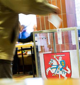 Seimo nario rinkimuose pirmasis pažeidimas fiksuotas Kriūkuose