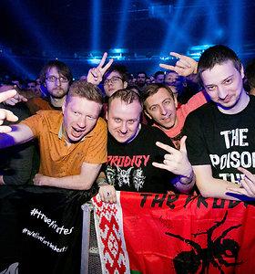 """The Prodigy"" koncerto Vilniuje akimirkos"