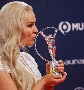 Sporto apdovanojimuose sužibėjo Lindsey Vonn