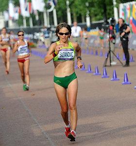 Ėjikė Kristina Saltanovič pasiekė sezono geriausią rezultatą, bet liko 21-a