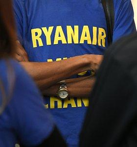 """""""Ryanair"""" pilotai planuoja surengti streiką Ispanijoje rugsėjo mėnesį"""