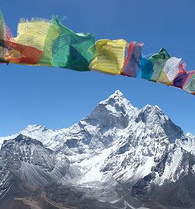 Žygis Everesto bazinės stovyklos link