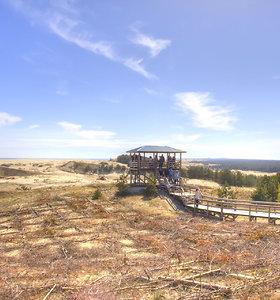 Vaizdai nuo Efos kopos viršūnės