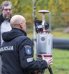 Policija demonstruoja naują 3D skanerį