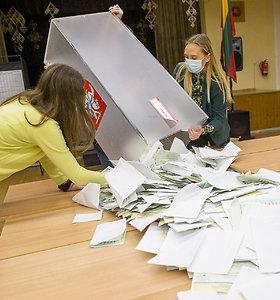 VRK patvirtino rinkimų rezultatus trijose vienmandatėse, kur pirmo turo metu išrinkti I.Šimonytė, B.Petkevič ir Č.Olševskis