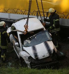 Įvertino – nemažai avarijų įvyksta, nes vairuotojai stokoja budrumo