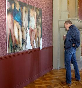 """Paroda """"Erotika ne per rakto skylutę"""" Trakų Vokės rūmuose"""