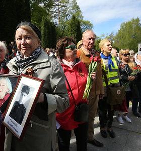 Gegužės 9-osios minėjimas Antakalnio kapinėse 2019