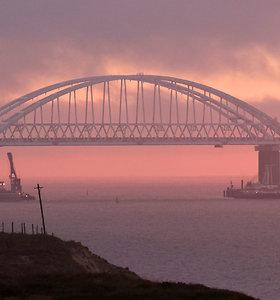 Ukraina pateikė skundą EŽTT dėl Rusijos sulaikytų 24 jūreivių