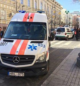 Sostinės Linksmojoje gatvėje – nelinksmas įvykis: VW kliudė vaiką