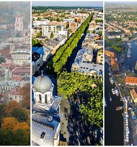 Vilnius, Kaunas, Klaipėda: TOP 3 brangiausi ir pigiausi rajonai