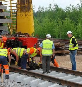 """Kiek darbininkų pareikalaus """"Rail Baltica"""" statybos?"""