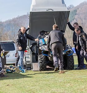 """ATVFANAI RACING TEAM"" komanda ""CFMOTO Hunt The Wolf"" varžybose"