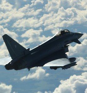 Rusų aviacija virš Baltijos jūros atstūmė prie S.Šoigu lėktuvo priskridusį NATO orlaivį