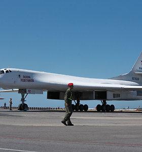 Į PAR atskrido du Rusijos strateginiai bombonešiai