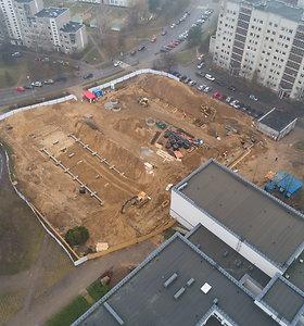 Sostinėje pradėtas statyti 3 krepšinio salių kompleksas