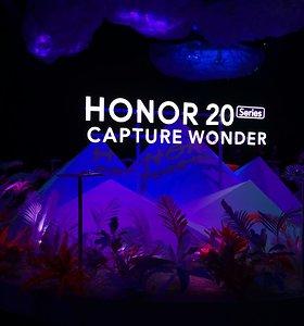 """Pristatyta """"Honor 20"""" telefonų linija: beveik tokie patys geri, kaip geriausi """"Huawei"""", tik pigiau"""