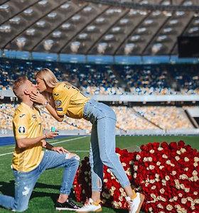Po skandalingo bučinio – Ukrainos futbolo žvaigždės piršlybos TV žurnalistei