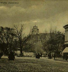 Istoriniai Gedimino kalno vaizdai