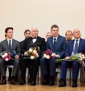 Lietuvos mokslo premijos laureato diplomų teikimo iškilmės