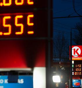 Degalų kainos nespėja paskui pingančią naftą: įžvelgiamas konkurencijos trūkumas