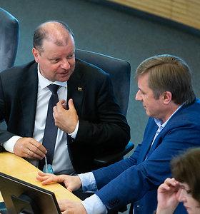 Apklausa: įtakingiausi politikai – S.Skvernelis, R.Karbauskis ir G.Nausėda