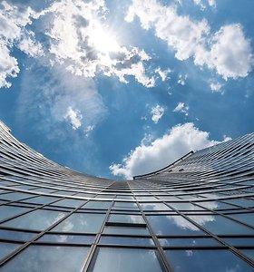 Vilniaus Konstitucijos prospekte užbaigtas statyti 29 aukštų gyvenamasis pastatas