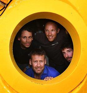Prie Prancūzijos krantų beveik mėnesį 120 m gylyje išbuvę tyrėjai baigė misiją