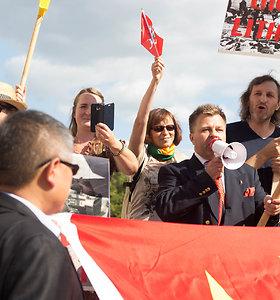 Dėl paramos akcijos Honkongo keliui trukdymo Lietuva įteikė notą Kinijos ambasadoriui