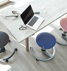 Biure vis dar nesėdite ant ergonomiškos kėdės? Paklauskite savo boso, kodėl
