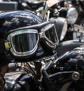 Du senoviniai motociklai Vilniuje dingo kartu su garažu, kuriame buvo saugomi