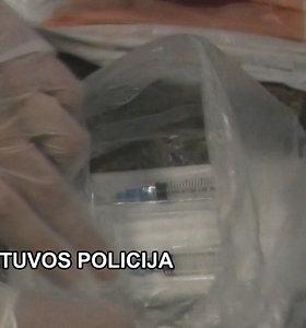 Alytaus pataisos namams skirti narkotikai