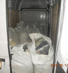 Muitinės kriminalistai aptiko vandens pypkių tabako kontrabandą