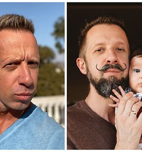 Linas Adomaitis po 2,5 metų atsisveikino su ūsais: pagrindinė priežastis – dukra