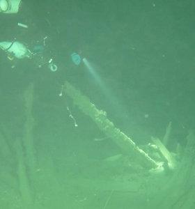 Balaklavos įlankos dugne – retas radinys: aptiktas senovės romėnų laivas