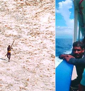 Nuošalioje saloje su pasauliu nebendraujanti gentis nužudė atvykusį misionierių