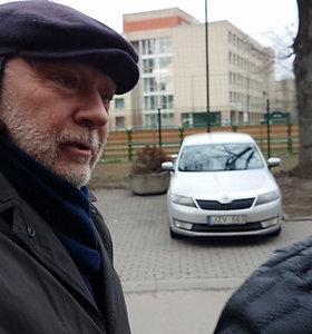 Į laisvę išėjęs teisėjas K.Gurinas ragino ateiti balsuoti
