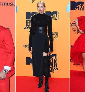 MTV Europos muzikos apdovanojimuose – ryškiais įvaizdžiais stebinančios žvaigždės ir netikėtas svečias